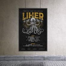 Liher. A Illustration, Musik und Audio, Grafikdesign und Digitale Illustration project by Artídoto Estudio - 27.11.2019