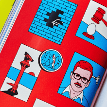 El odio vota. A Illustration, Verlagsdesign, Grafikdesign, Comic, Cop, writing und Zeichnung project by offbeatestudio - 27.11.2019