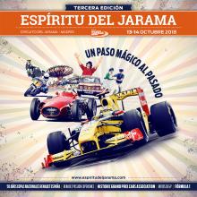 Espíritu del Jarama-18. Un proyecto de Diseño, Dirección de arte, Eventos y Diseño gráfico de Javier Gómez Ferrero - 13.10.2018