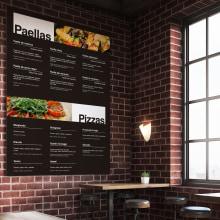 Cartas de restaurante. Un proyecto de Diseño, Diseño gráfico, Tipografía, Creatividad y Diseño digital de Sergio Camaño Martín - 04.12.2019