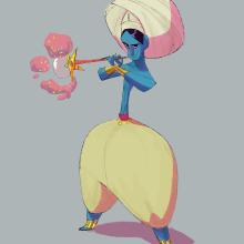 Character Design 4forFan. Um projeto de Design de personagens e Ilustração digital de Caio Martins - 04.12.2019