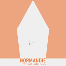 NORMANDIE. A Graphic Design, and Vector Illustration project by Sub/Lup Design - 12.05.2019