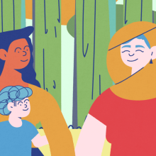 United Nation - Family Story. A Animation, Character animation & Illustration project by Andrea Gendusa - 07.12.2019