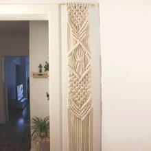 Mi Proyecto del curso: Introducción al macramé: tapiz XL. Un progetto di Artigianato di Valeria Couble Juillet - 13.10.2019