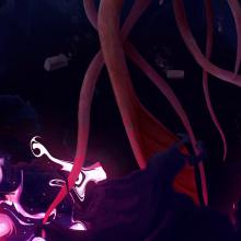 Levitación etérea . Un proyecto de Ilustración, Dibujo, Ilustración digital y Dibujo artístico de Alex Shagu - 21.12.2019