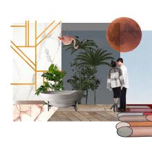 Mi Proyecto del curso: Representación gráfica de proyectos arquitectónicos. Un proyecto de Diseño de interiores de Ana Blanco - 21.12.2019