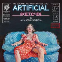 ARTIFICIAL SKETCHES. A Malerei project by Ale Casanova - 24.12.2018