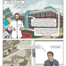 Historietas y desigualdades sociales en Latinoamérica - Universidad de Manchester. Un projet de B, e dessinée, Dessin et Illustration numérique de Francisca Cárcamo Rojas - 01.03.2019