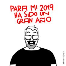 ¡Caña  al 2020!. Un proyecto de Ilustración y Animación 2D de Juanma García Escobar - 29.12.2019