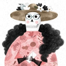 Santo Remedio. A Illustration, Character Design, Graphic Design, Digital illustration, Watercolor Painting, and Children's Illustration project by Flavia Z Drago - 12.31.2019