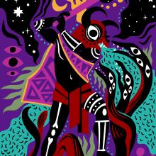 Un Mural en La Paz. Un projet de Illustration , et Peinture de Tomas Ives - 26.02.2019