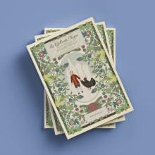 """Libro """"La gallinita negra"""" de Antony Pogorelsky. A Verlagsdesign, Vektorillustration, Digitale Illustration und Kinderillustration project by Meritxell Gil - 05.01.2020"""