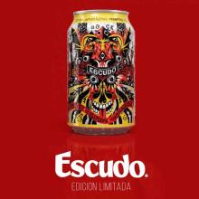 Escudo Cerveza. Un projet de Illustration numérique de Tomas Ives - 10.12.2016
