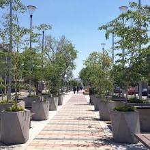 PASEO PEATONAL EN SAHUAYO. Un progetto di Design industriale, Paesaggismo , e Arte urbana di EN·CONCRETO - 09.01.2020