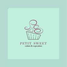 Petit Sweet. A Design, Br, ing, Identit, Graphic Design, and Logo Design project by Macarena Giacoman - 01.10.2020