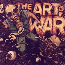Portada de disco : The Art of War. Um projeto de Ilustração, Artes plásticas, Comic e Ilustração digital de Elena Wa - 10.01.2020