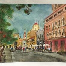 Mi Proyecto del curso: Calle Caseros, Salta. Arg. . Un proyecto de Bellas Artes de ceciliamarinaro - 11.01.2020