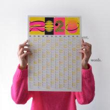 Calendario 2020. Um projeto de Design gráfico de Clara Briones Vedia - 12.01.2020