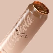 Coca-Cola Café. Un proyecto de 3D, Br, ing e Identidad y Packaging de David Espinosa - 15.01.2020