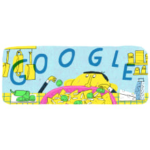 Google Doodle. A Animation und Illustration project by Alfonso De Anda - 19.08.2019