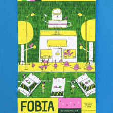 Poster Pastel. A Illustration project by Alfonso De Anda - 04.10.2019