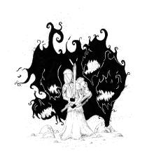 Sombras de los olvidados.. Un proyecto de Dibujo a lápiz, Dibujo artístico e Ilustración de Alex Shagu - 19.01.2020