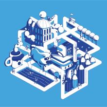 Micromundo - Rutina. Um projeto de Design, Ilustração, Design de personagens, Ilustração vetorial, Criatividade, Stor e telling de Daniel Crespo Saavedra - 21.01.2020