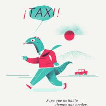 ¡Taxi!. Un proyecto de Ilustración digital de Andrés Rodríguez Pérez - 23.01.2020