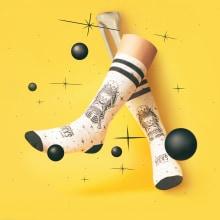 American Socks. Um projeto de Fotografia, Retoque fotográfico, Fotografia do produto, Iluminação fotográfica, Fotografia artística,  Fotografia publicitária e Fotografia para Instagram de Sand Ripoll - 26.01.2020