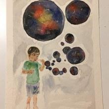 Mi Proyecto del curso: Técnicas modernas de acuarela. Un proyecto de Bellas Artes de ceciliamarinaro - 28.01.2020