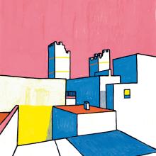 Cádiz. Un proyecto de Ilustración, Arquitectura y Pintura de KIKE IBÁÑEZ - 06.09.2019