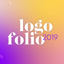 Logofolio 2019. A Br, ing, Identit, and Digital illustration project by Pilar Chamorro Mora - 01.30.2020