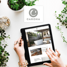 Caroma Australia . Website. A UI / UX, Br, ing, Identit, and Web Design project by Pilar Chamorro Mora - 01.30.2020