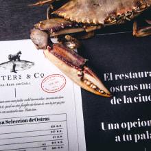 Oysters & Co.. Um projeto de Ilustração, Direção de arte, Br, ing e Identidade e Design de logotipo de Monotypo Studio - 02.02.2020