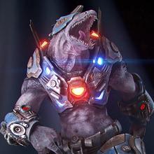 Teiidae Warrior. A 3-D, 3-D-Modellierung, Videospiele, Design von 3-D-Figuren, 3-D-Design und Videospielentwicklung project by Manu Herrador - 03.02.2020
