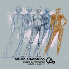 Dibujo Anatómico en Casatinta. A Illustration, Drawing, Digital illustration, and Artistic drawing project by ZURSOIF Miguel Bustos Gómez - 08.05.2019