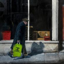 Fake plastic bag. Um projeto de Pintura Acrílica de Paco Martos - 07.02.2020