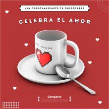 Campaña de ChisoTazas. Un progetto di Graphic Design, Marketing digitale, Marketing per Facebook , e Design digitale di Brando Valles - 03.02.2020