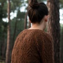 Forest sweater. A Crafts project by Carmen García de Mora - 02.10.2020