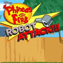 Phineas and Ferb: Robot Attack!!! (Disney). Un proyecto de Diseño de videojuegos y Desarrollo de videojuegos de Luis Daniel Zambrano - 09.03.2009