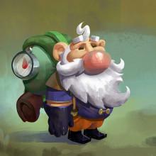 Nubarron: the adventure of Unlucky Gnome. A Kunstleitung, Videospiele und Concept Art project by Juan Novelletto - 12.02.2020