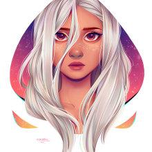 Stare. A Digitale Illustration project by Natália Dias - 13.02.2020