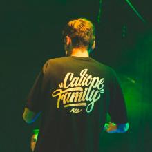 Lettering Animado   Caliope Family. Un proyecto de Animación, Caligrafía, Lettering y Diseño de logotipos de Nicolás Romero - 13.02.2020