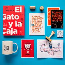 El Gato y La Caja - Anuario 2016. Um projeto de Direção de arte, Design editorial e Design gráfico de The Negra - 17.02.2020