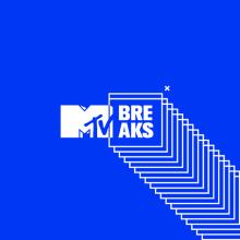 Mtv Breaks. Un proyecto de Animación, Br, ing e Identidad, Diseño gráfico, Tipografía y Arte urbano de The Negra - 17.02.2020
