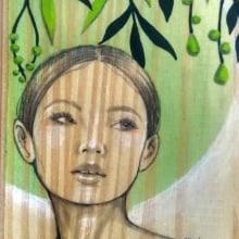 Mi Proyecto del curso: Acuarela sobre madera. Un projet de Illustration de Karina - 17.02.2020