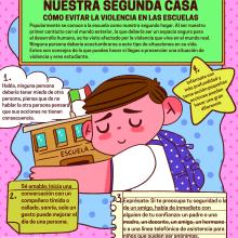 La escuela nuestro segundo hogar . Un proyecto de Ilustración, Ilustración infantil y Comunicación de Andrés Ávila - 01.02.2020
