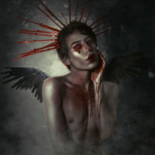 Cupid has a broken heart. Un proyecto de Fotografía, Fotografía de retrato y Fotografía artística de Alex Estrella - 14.02.2020