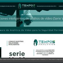 Sitio web de Tempos Analytics. Un proyecto de Diseño, Br, ing e Identidad, Desarrollo Web, Marketing Digital, CSS y HTML de Rafael J. Mora Aguilar - 10.02.2020