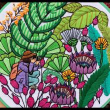Bordando personas (rodeadas de naturaleza). Un projet de Broderie de Coricrafts - 20.02.2020